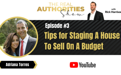 Episode 3 – Tips for Staging A House To Sell On A Budget